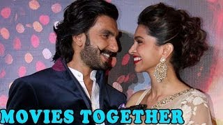 Ranveer Singh and Deepika Padukone's Reactions on 2 Movies - ZOOMDEKHO