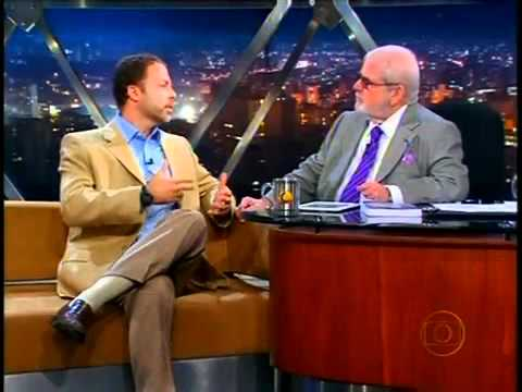 Jô Soares entrevista Julio Peres 06 05 2010 Parte 1 de 3