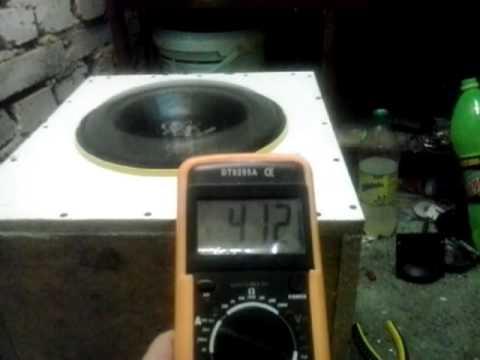 Test głośnika Ground Zero 30 SPL