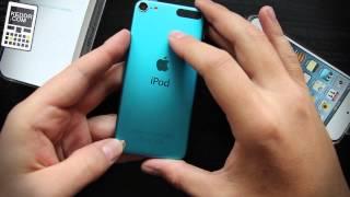 Unboxing Apple iPod touch 5Gen