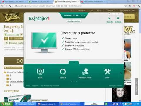 Kaspersky Internet Security 2012,2013 keys(365 days)