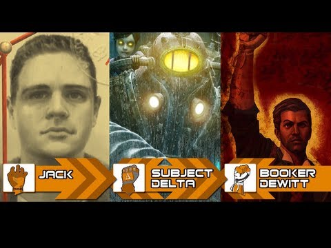 Bioshock Beatdown: Jack Vs Subject Delta Vs Booker DeWitt