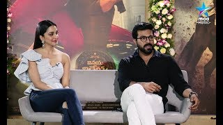 Ram Charan and Kiara Advani Special Interview about #VinayaVidheyaRama - MAAMUSIC