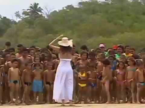 Jornal Nacional (dez/2008) - Crianças do sertão veem o mar pela primeira vez