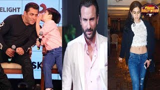 Salman Khan's Camaraderie With Matin Rey   Saif Takes A Uturn On Sara's Debut
