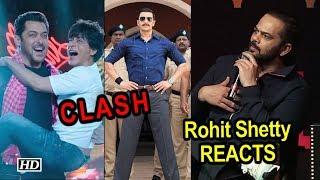 SRK's 'Zero' - Ranveer's 'Simmba' CLASH, Rohit Shetty REACTS - IANSLIVE