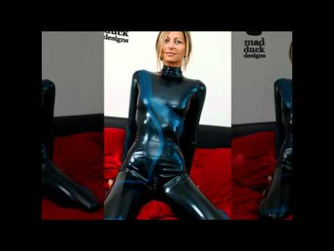 mad duck designs: Latex Catsuits - First Shooting