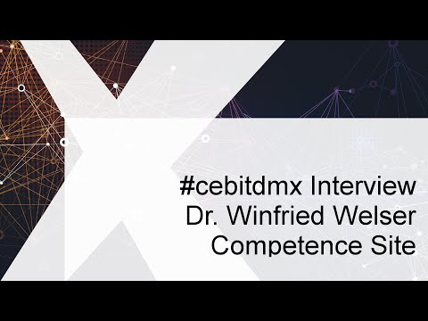 #cebitdmx Interview mit Winfried Felser, Netskill Solutions GmbH / Competence Site