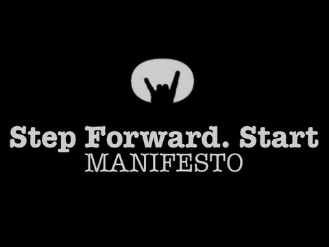 Rockstart 'Step Forward. Start.' Manifesto