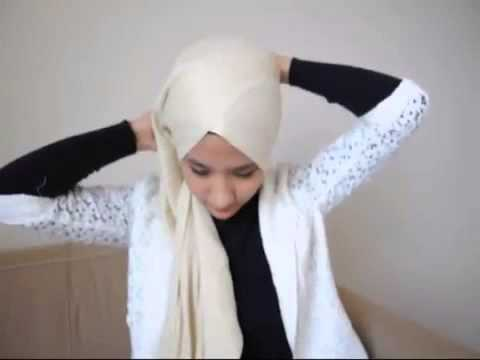Hijab Turban Style Pashmina Tutorial by Syireen Saari
