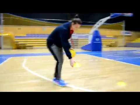 Gry i zabawy koszykarskie w ramach Comenius Regio
