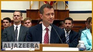 🇺🇸 FBI agent Strzok grilled by Republicans in congressional hearing | Al Jazeera Englihs - ALJAZEERAENGLISH