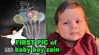 Mira Rajput shares FIRST PIC of baby boy zain - IANSLIVE
