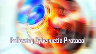 Royalty Free Following Cybernetic Protocol:Following Cybernetic Protocol