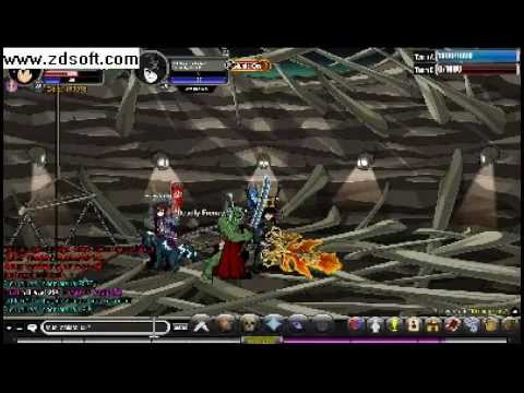 Xouge DX-Necromancer vs Darkside AQW