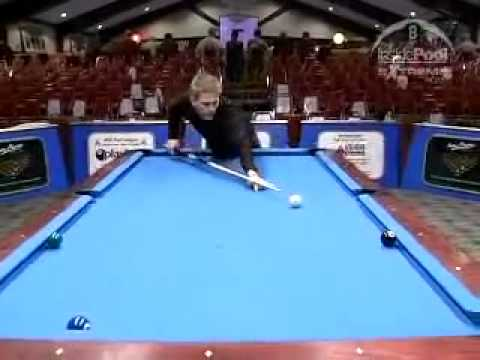 An Easy Way to Shoot Bank Shots in Billiards and Pool