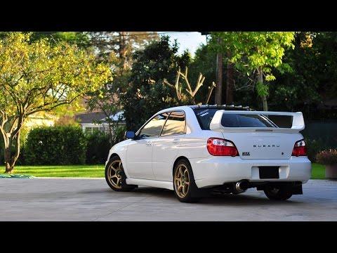 Subaru Impreza WRX STi crazy revs
