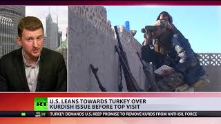 US leans towards Turkey over Kurdish issue before top visit - RUSSIATODAY