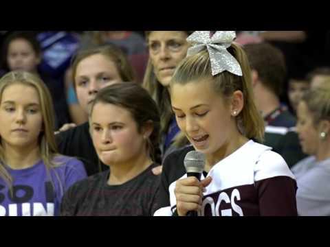 Waller Junior High Pep Rally