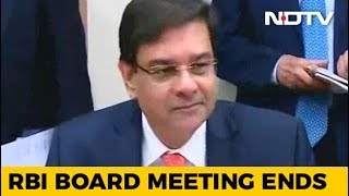 RBI Board Meeting, Amid Rift With Centre, Ends After 9 Hours - NDTV