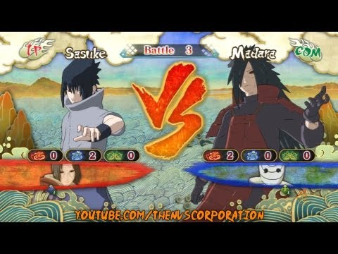 (EMS) Sasuke Vs Madara [Request] | Naruto Shippuden: Ultimate Ninja Storm 3