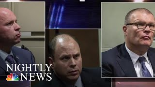 CHI Officers Cleared Of Charges Tried To Cover Up Evidence In McDonald Killing | NBC Nightly News - NBCNEWS