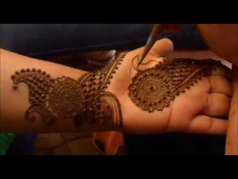 2014 Best Traditional Indo Arabic Henna Mehendi/Learn Mehndi Design