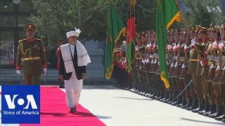 Rockets hit Kabul as Ghani delivers his address for Eid-al-Adha - VOAVIDEO