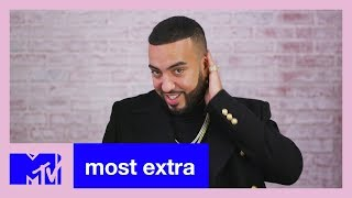 French Montana Gets Called Out On His Tennis Attire! 🎾 | Most Extra | MTV - MTV