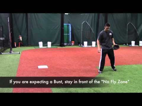 The danger zone for 3rd basemen!  Pro tip from MN Twins infielder