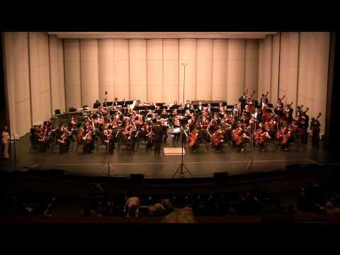 Concert Master Tuning - All-State South Carolina SC Senior Orchestra 2011 Clemson