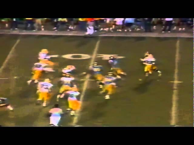 Oregon WR Joe Reitzug 21 yard reception vs. UCLA 11-11-1989