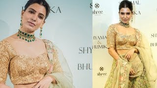 Samantha Akkineni Latest Unseen Images | Samantha Beautiful In Bridal Look - RAJSHRITELUGU