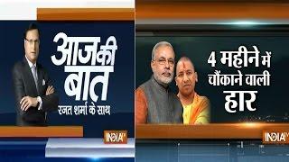 Aaj Ki baat with Rajat Sharma September 16, 2014: BJP's string of bypoll losses continues - INDIATV