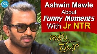 Ashwin Mawle About Funny Moments With Jr NTR    Talking Movies With iDream - IDREAMMOVIES