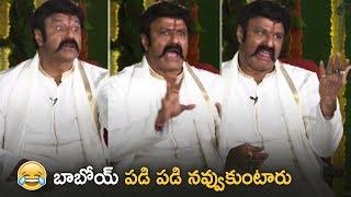 Nandamuri Balakrishna Making Hilarious Comedy   Jai Simha Movie   TFPC - TFPC