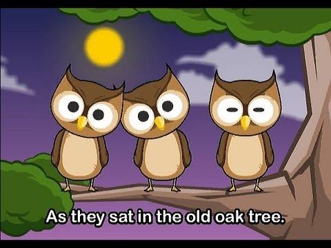 Muffin Songs – One Little Owl  İngilizce Tekerlemeler ve İngilizce Çocuk Şarkılar