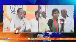 Yuva Telangana Party Alliance With BJP In Telangana Elections | Laxman Fires on Mahakutami | iNews - INEWS