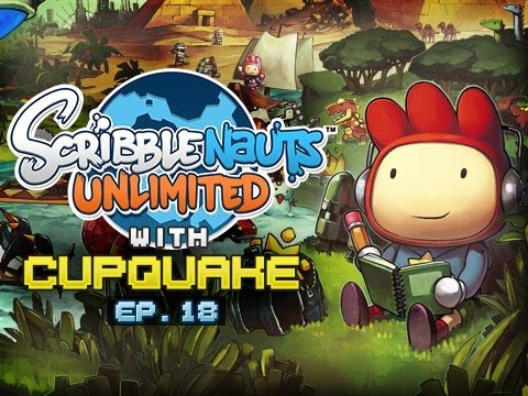 """COMPANION CUBE"" Scribblenauts Unlimited Ep 18"