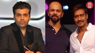 Karan Johar Miffed With Award Organizers | Ajay Devgn Upset With Rohit Shetty? - ZOOMDEKHO