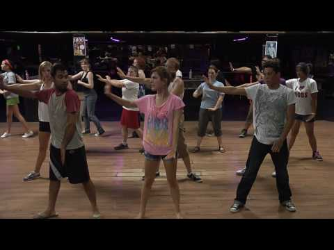 Poker Face Choreography for Lady Gaga Flashmob Tacoma
