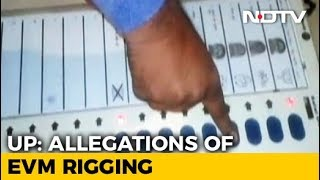 Fresh Allegations Of EVM Malfunction Fraud In UP - NDTV