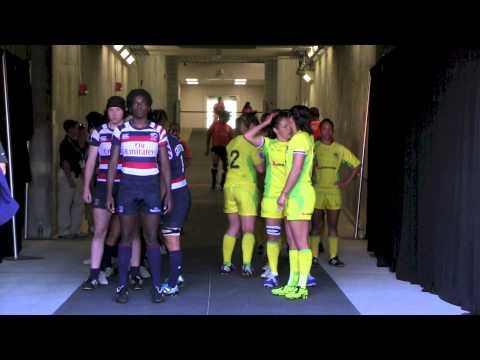 USA vs. Australia Tunnel Cam - Houston Sevens