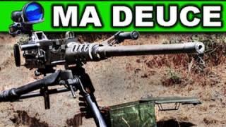 50 Cal Ma Deuce Machine Gun!      M2 QCB RatedRR