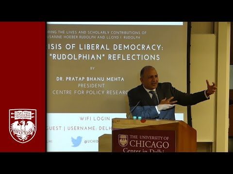 "Crisis of Liberal Democracy: Some ""Rudolphian"" Reflections"