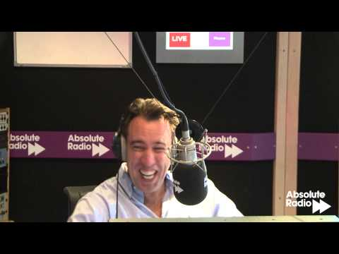 Ian Wright and Christian O'Connell crack-up laughing on Absolute Radio