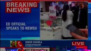 ED official speaks to NewsX, says raids in Delhi to continue till midnight - NEWSXLIVE