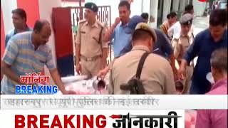 Saharanpur Police provide sharbat to public on the occasion of neerjala Ekadashi. - ZEENEWS