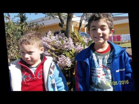 Nossas crianças em nosso jardim