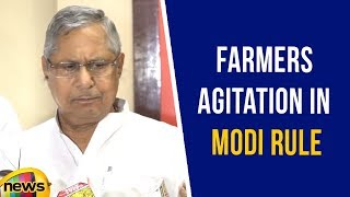 Mohan Prakash Addresses Media at Congress Farmers Agitation In Modi Rule | Mango News - MANGONEWS